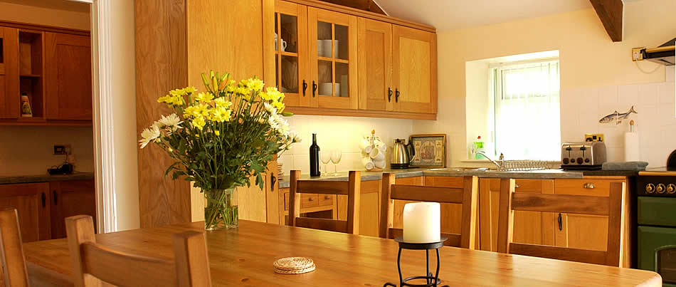 The Mill House, a luxury holiday cottage sleeping 8 at Great Bodieve Farm Barns, north Cornwall