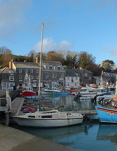 Boat trips leave from the quay at Padstow